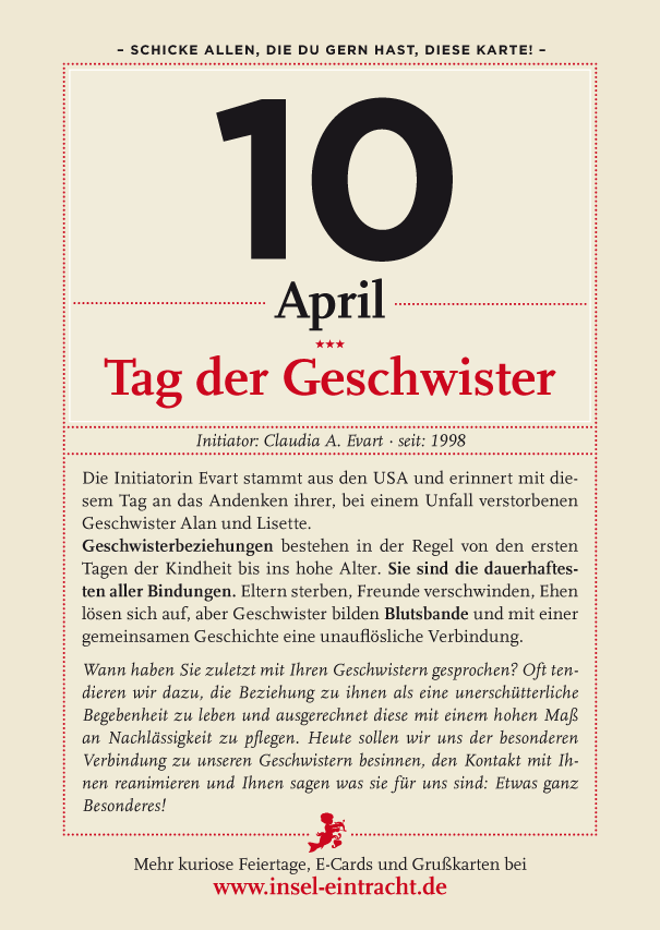 geschwister tag