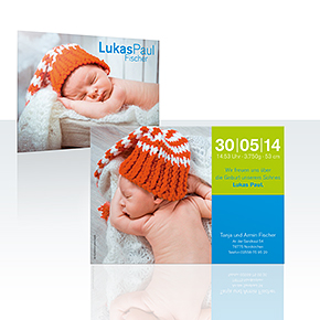 Geburtskarten - Zielsicher