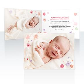 Einladungskarten - Streublume